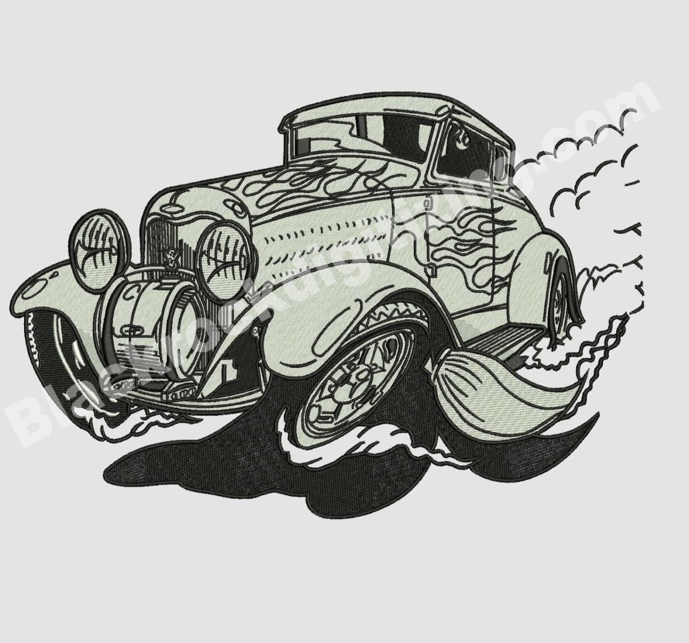 Car Embroidery Digitizing