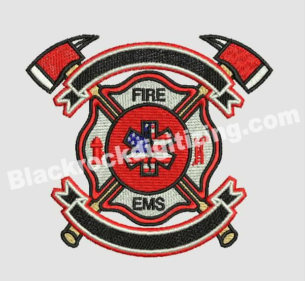 Fire Logo Digitizing